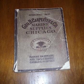 Marine Hardware & Yacht Supply Catalog. - Books