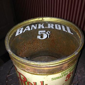 5 cent tobacco tin