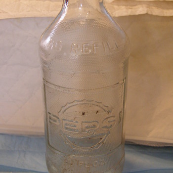OLD PEPSI BOTTLE - Bottles