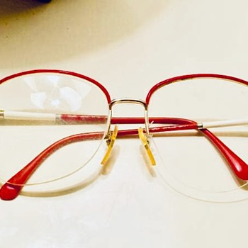 Vintage Japanese Classic Art Deco Style Eyeglasses  - Accessories