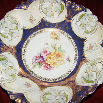"R.S. Prussia 12"" bowl - China and Dinnerware"