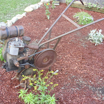1940s front tine tiller - Tools and Hardware