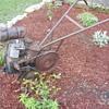 1940s front tine tiller