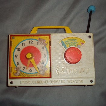 Two well loved Fisher Price toys - Radio and Camera - Toys
