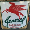 Rare 1920's or 30's General Gasoline Sign
