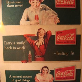 Coca-Cola Blotters - Coca-Cola