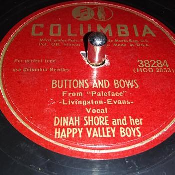 "10"" SHELLAC DISC....#22 - Records"