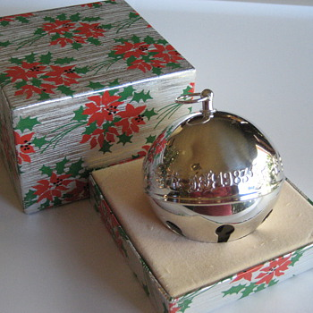 Wallace Silver Plate Sleigh Bell