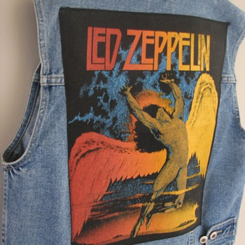 Led Zeppelin Back Patch used after all these years