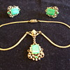Old Czech Necklace and Earrings- To Clean or not to Clean?