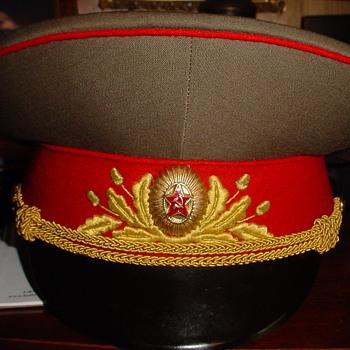 Service Dress Visor Cap of a Marshal of the Soviet Union
