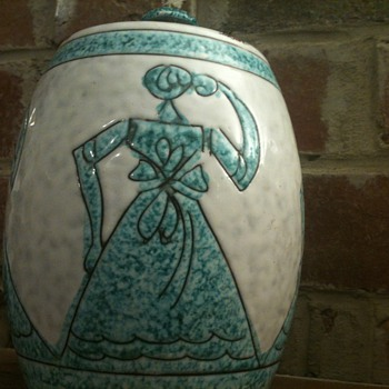 Mystery Lidded Jar - Pottery