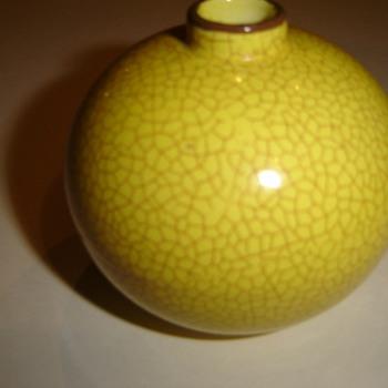 Rosenthal Crackle finish vase - Pottery