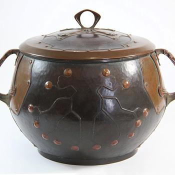 Hans Eduard von Berlepsch-Valendas Copper Tureen / Ice Bucket - Art Nouveau