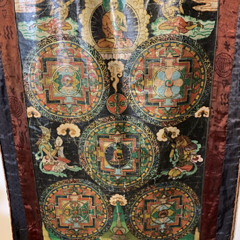 Tibetan Thangka - Asian