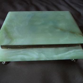 Marble Vintage Jewelry box