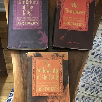 Lord of the Rings books. - Books