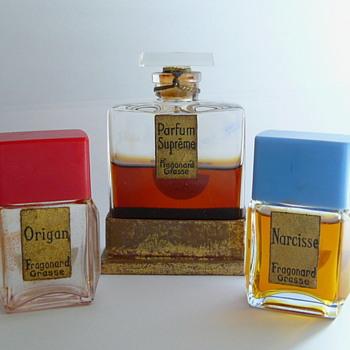 Vintage Fragonard - Bottles