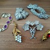 1930s costume jewelry lot
