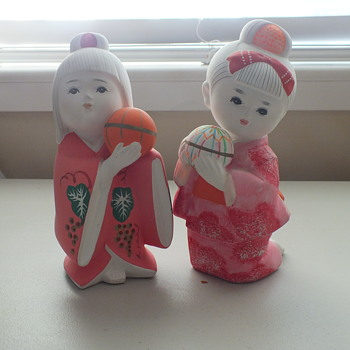 Japanese Clay Fire Doll - Asian