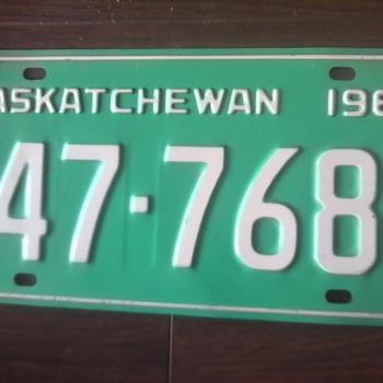 Some Vintage Auto Plates