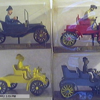 I got these at a Auction years ago Anyone know anything about them? - Model Cars