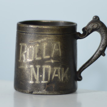 Vintage Rum Ration Cup - Silver