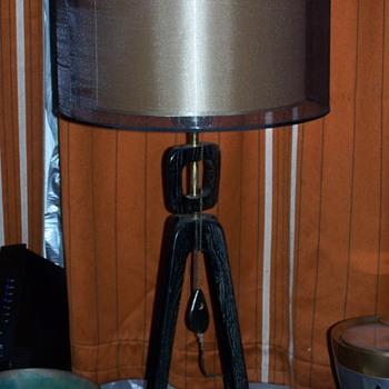 RARE MODELINE MID CENTURY  TABLE & FLOOR LAMPS - Lamps