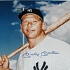 "MICKEY MANTLE 16"" x 20"" Framed Autographed Photo"