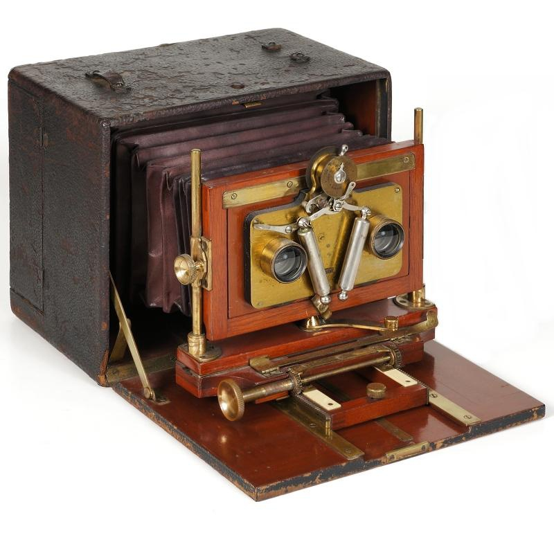Henry Clay Stereoscopic Camera, 1892-99 (not all vintage