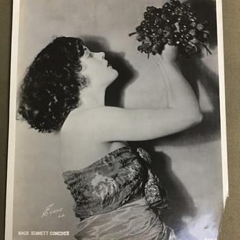 Original Mack Sennett Comedies Silent Film Actress Phyllis Haver Photographs - Photographs