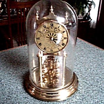 "West German ""Black Forest"" Kundo - Kieninger/Obergfell 400 Day ""Miniature"" Anniversary Clock / Circa 1950's or later - Clocks"
