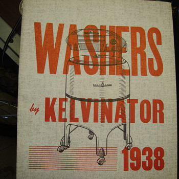 1938  kelvimator package  for dealers   - Paper