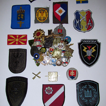 Former Soviet Union and Allied Countries Pins & Patches