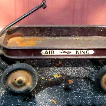 Vintage AIR KING Coaster Wagon - Toys