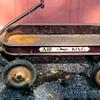 Vintage AIR KING Coaster Wagon