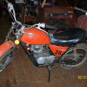 1970 Honda SL 100 - Motorcycles