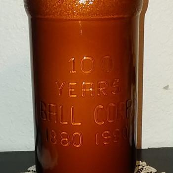 Ball commemorative coffee creamer jar - Bottles