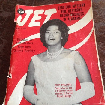 Jet Magazine June 4 1964 Jayne Mansfield Cassius Clay Photos - Paper