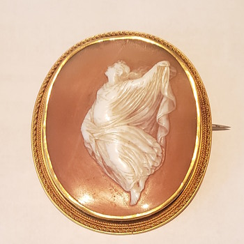 Cameo from my Great Great Great Great Aunt Eugenia Coolidge Sawtelle, pre 1867 - Fine Jewelry