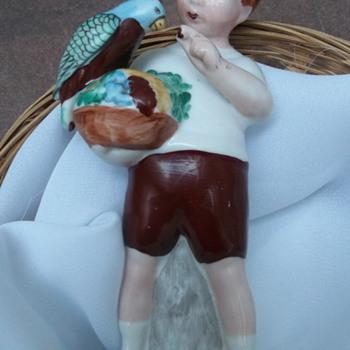 Antique Porcelain Figurine. - Figurines
