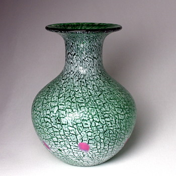Another unidentified glass vase from Japan - Art Glass