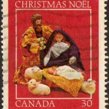 "1982 - Canada ""Christmas"" Postage Stamp - Stamps"