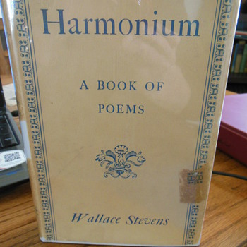 Harmonium by Wallace Stevens, signed - Books