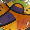 unknown 1960's inlaid table