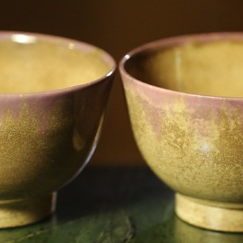 Two Little Bowls - Japanese? - Asian