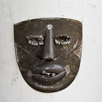 Cut Tin Mask from Mexico - Fine Art