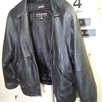 WILSON'S leather jacket #4 - Mens Clothing