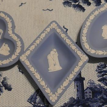 Wedgwood Light Blue Jasperware Mytological Scene - Pottery