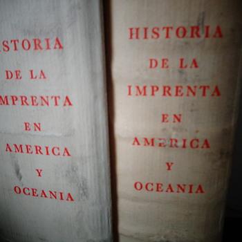 Historia de la imprenta en América y Oceanía - Books